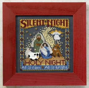 click here to view larger image of Silent Night (counted cross stitch kit)