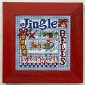 click here to view larger image of Jingle Bells (counted cross stitch kit)