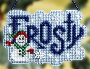click here to view larger image of Frosty (2008) (counted cross stitch kit)