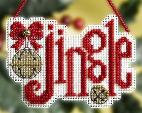 click here to view larger image of Jingle (2008) (counted cross stitch kit)