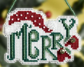 click here to view larger image of Merry (2008) (counted cross stitch kit)