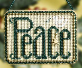 click here to view larger image of Peace (2008) (counted cross stitch kit)