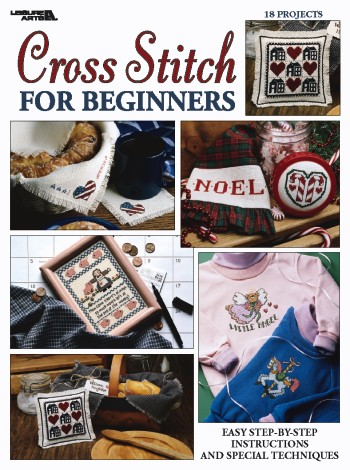 click here to view larger image of Cross Stitch For Beginners  (chart)