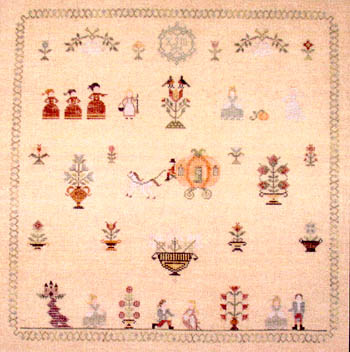 click here to view larger image of Cinderella Sampler (chart)