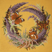 click here to view larger image of Forget Me Not - Buddleia (needlepoint)