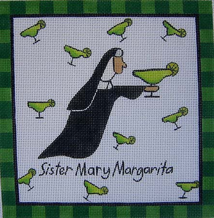 click here to view larger image of Sister Mary Magarita (hand painted canvases)