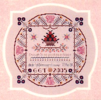 click here to view larger image of Round Square Sampler (chart)