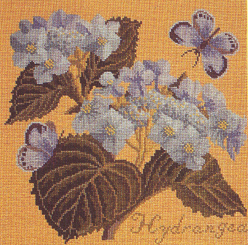 click here to view larger image of Botanical Garden - Hydrangea (needlepoint)