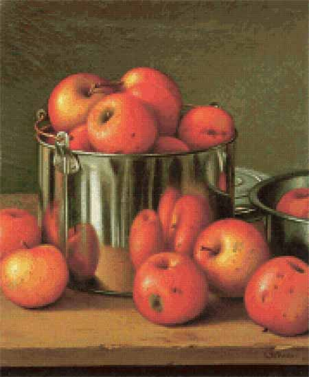 click here to view larger image of Apples in a Tin Pail  (chart)