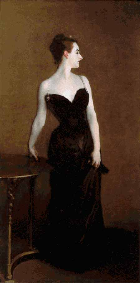 click here to view larger image of Madame X (chart)