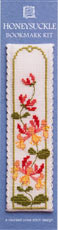 click here to view larger image of Honeysuckle Bookmark (counted cross stitch kit)