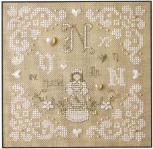 click here to view larger image of N Is For Nurse (counted cross stitch kit)