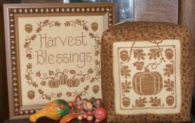 click here to view larger image of 1 Color Wonders - Harvest Blessings (chart)