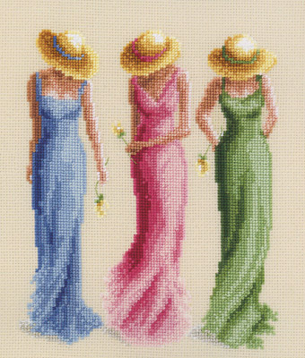 click here to view larger image of Summer Breeze (counted cross stitch kit)