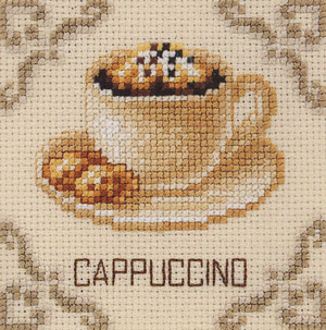 click here to view larger image of Cappuccino (counted cross stitch kit)