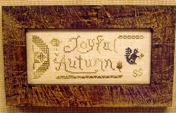 click here to view larger image of Joyful Autumn (chart)