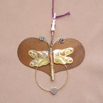 click here to view larger image of Heart With Dragonfly Thread Separator - 3.5 inches (accessory)