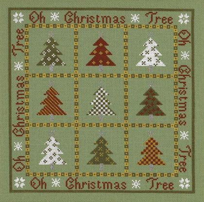 click here to view larger image of Oh Christmas Tree (Kit) (counted cross stitch kit)