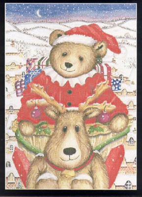 click here to view larger image of Christmas Bear (chart)