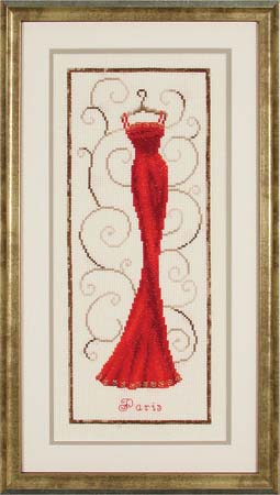 click here to view larger image of Paris Couture (kit) (counted cross stitch kit)
