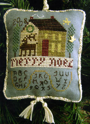 click here to view larger image of ABC Noel House (2008 Ornament  w/charm) (chart)