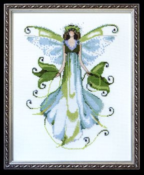 click here to view larger image of Morning Glory  - Pixie Couture Collection (chart)