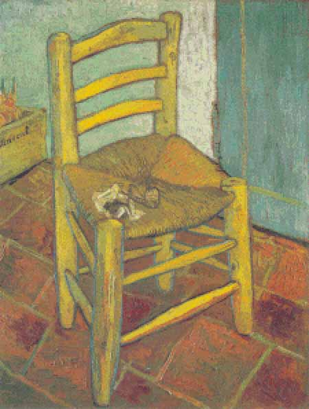 click here to view larger image of Vincent's Chair (chart)