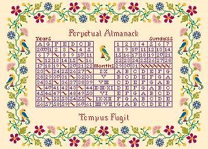click here to view larger image of Almanack (chart)