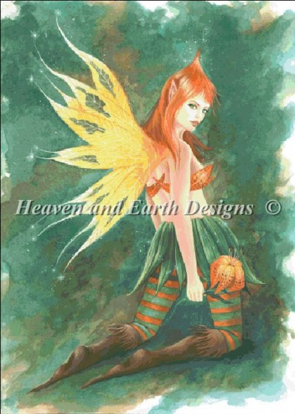 click here to view larger image of Tiger Lily Faerie (chart)