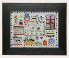 click here to view larger image of Welcome Home Calendar Series September - Heart of Our Home (counted cross stitch kit)