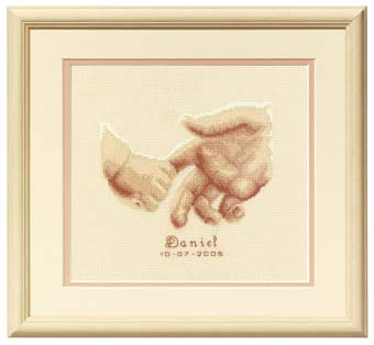 click here to view larger image of Loving Hands/Tenderness (counted cross stitch kit)