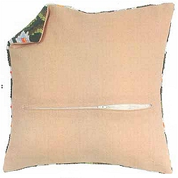 click here to view larger image of Cushion Back With Zip (accessory)
