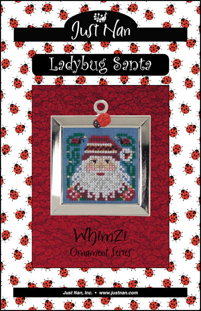 click here to view larger image of Ladybug Santa (chart)