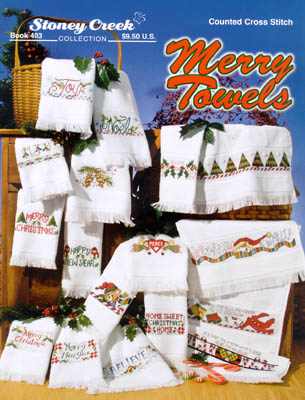 click here to view larger image of Merry Towels (chart)