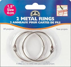 "click here to view larger image of Metal Rings 1.5"" (accessory)"