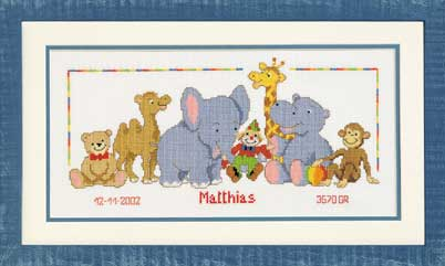 click here to view larger image of Mattias (counted cross stitch kit)