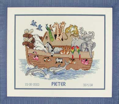click here to view larger image of Pieter (counted cross stitch kit)