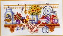 click here to view larger image of Breakfast (70132) (counted cross stitch kit)