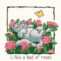 click here to view larger image of Bed of Roses, A - Cats Rule (chart)