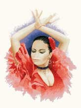 click here to view larger image of Flamenco Dancer  (chart)