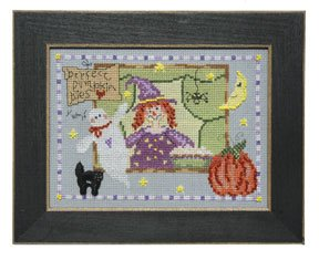 click here to view larger image of Welcome Home Calendar Series October - Perfect Pies (counted cross stitch kit)