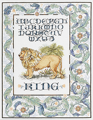 click here to view larger image of King, The (counted cross stitch kit)