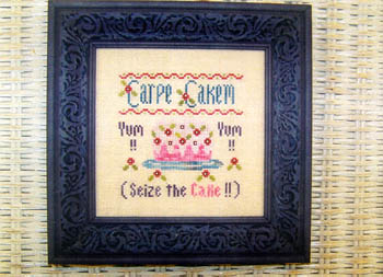 click here to view larger image of Carpe Cakem (chart)