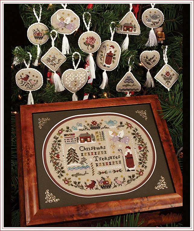 click here to view larger image of Christmas Treasures (chart)