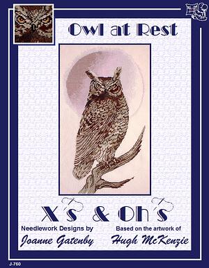 click here to view larger image of Owl At Rest (chart)