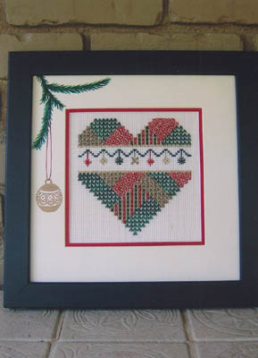click here to view larger image of Deck The Halls Heart (chart)