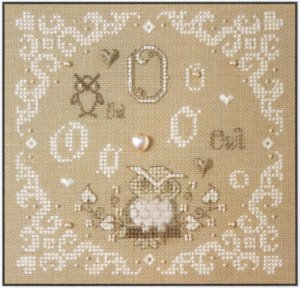 click here to view larger image of O Is For Owl (counted cross stitch kit)