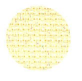 click here to view larger image of Zweigart Aida - Yellow Dust Opalescent - 14ct 36X21 (Zweigart Aida 14ct)