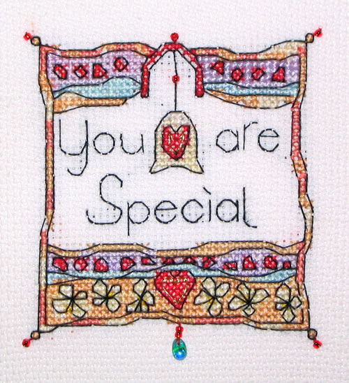 click here to view larger image of You are Special (chart)