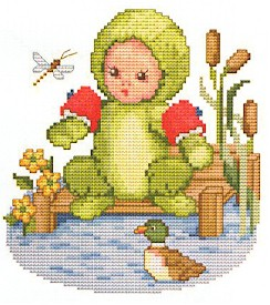 click here to view larger image of Frog Baby (chart)